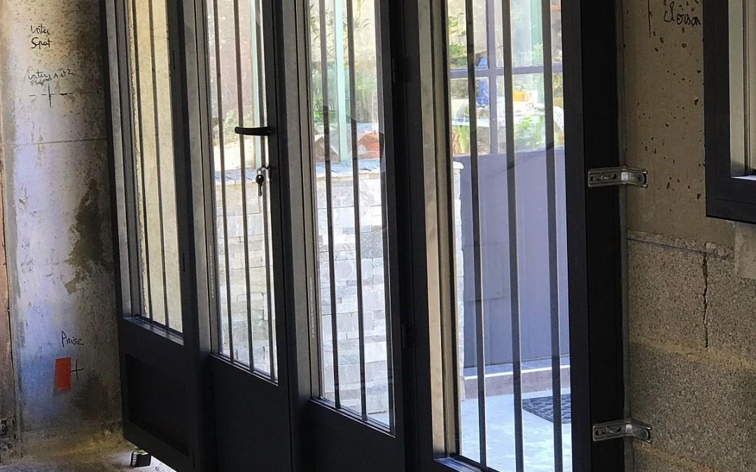 Porte-fenêtre-Schüco-Rhone-alpes